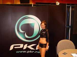 gorgeous PKR girl at conference