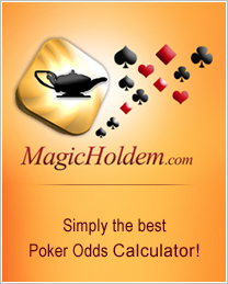 magic holdem poker calculator